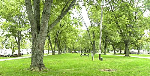 Campshore Campground and Recreation, Aurora, Indiana.